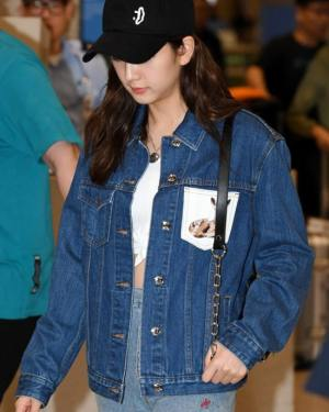 Deer Denim Jacket And Skirt Set | Jisoo -BlackPink