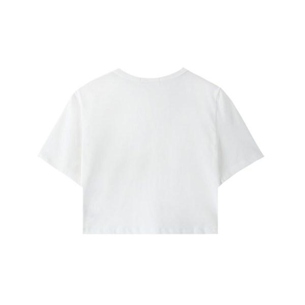 Black Snap Buttons Crop Top | Lisa – BlackPink