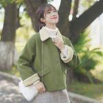 Cute Green Korean Jacket