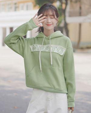 Green Neato Hoodie (1)