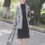 Grey Long Coat