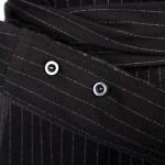 Striped Black Waist Tie Blouse | Jennie – BlackPink