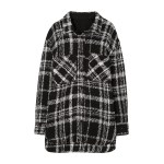 Fancy White Black Checkered Jacket | Jimin – BTS