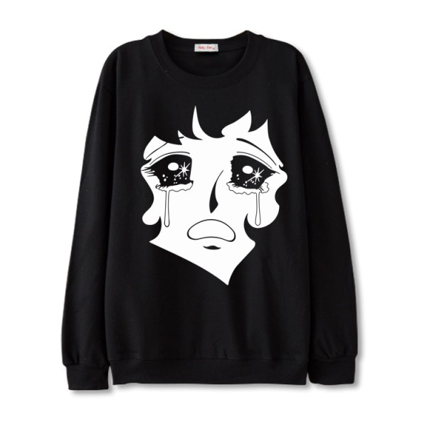 Crying Anime Sweater | Jisoo – BlackPink