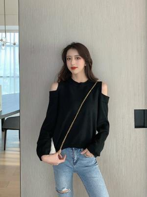 Tzuyu Bare Shoulders Knit Sweater (5)