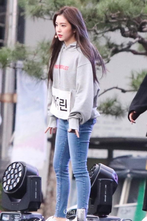 Individualist Grey Hoodie   Irene – Red Velvet
