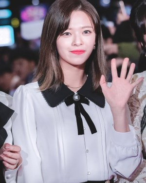 Doll Collar Shirt With Ribbon | Jeongyeon – Twice