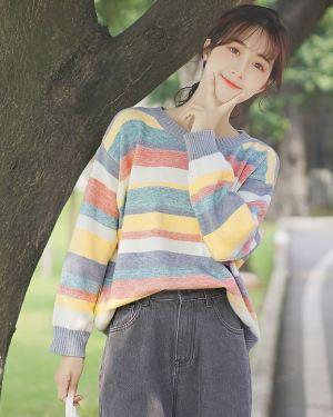 Multicoloured Pastel Sweater (1)