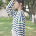 Striped Loose Fitting Sweater