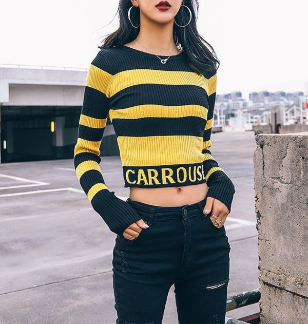 "Striped Sweater ""Carrousel"""