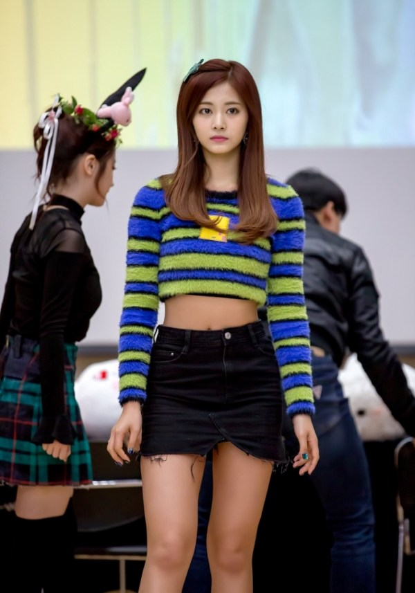 Mink Hair Crop Sweater | Tzuyu – Twice