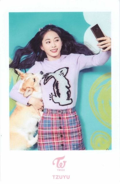 White Rabbit Designed Lilac Sweater | Tzuyu – Twice