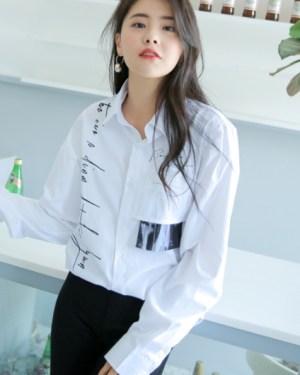 Baekhyun Zero Four Phrase Print Shirt (14)