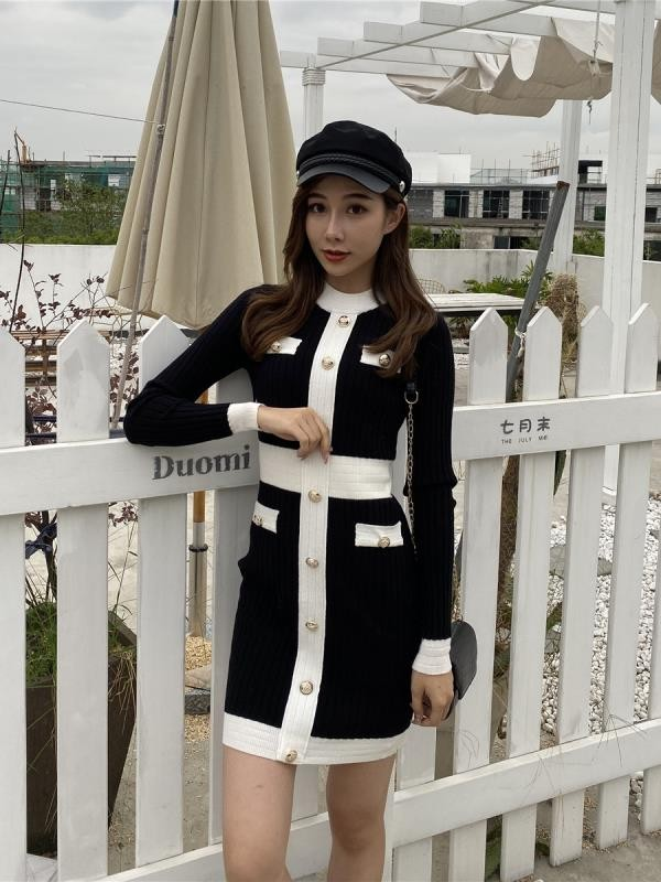 Elegant European Style Dress | Chung Ha