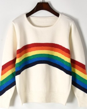 Dahyun Rainbow Bridge Sweater (1)
