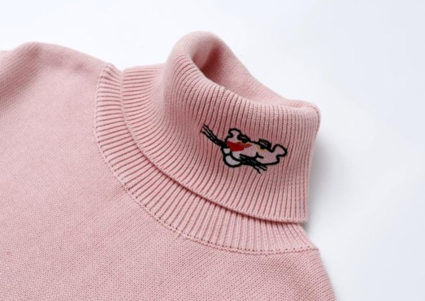 Pink Panther Turtleneck Sweater | IU