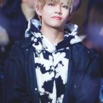 Black And White Pattern Hoodie | Taehyung – BTS
