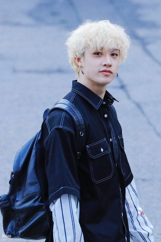 Oversize Trendy Short Sleeve Shirt | Bang Chan – Stray Kids