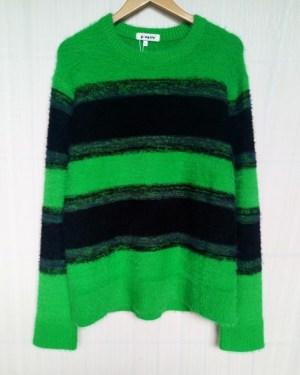 Bang Chan Winter Green and Black Sweater (1)