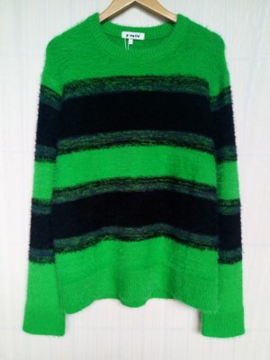 Bang Chan Winter Green and Black Sweater (1)