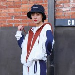 Brown Hood Zip-up Hoodie   Chaeryoung – ITZY