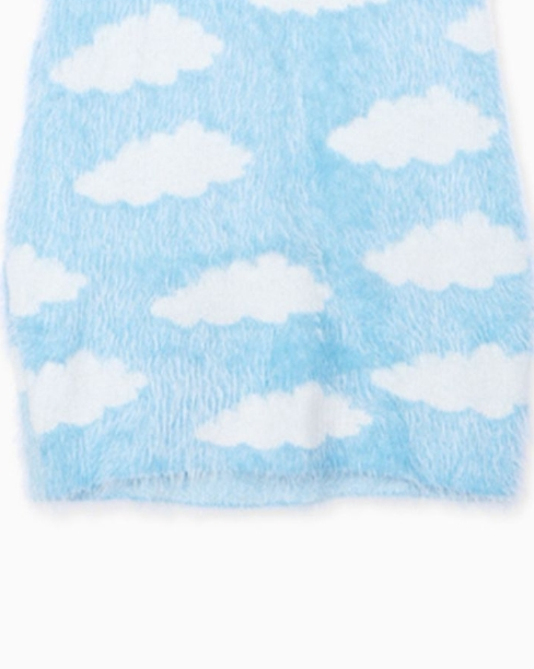 Sky Clouds Short Dress | Chaeyoung – Twice