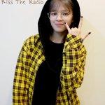 Hooded Flannel Oversize Sweatshirt | Jeongyeon – Twice