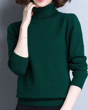 Jimin Classic Full Turtle Neck Sweater 9