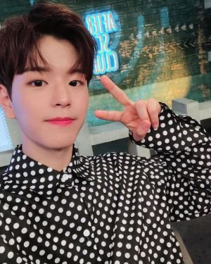 Polka Dot Long Sleeve Shirt | Seungmin – Stray Kids