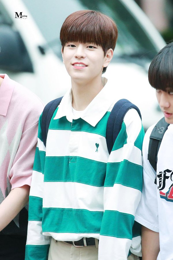 Retro Stripe Long Sleeve Shirt | Seung Min – Stray Kids