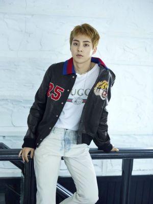 Tiger Head Leather Jacket | Xiumin – EXO