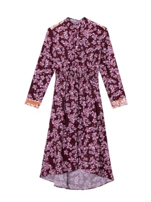 Yoon Se Ri Floral Long Sleeved Dress (1)