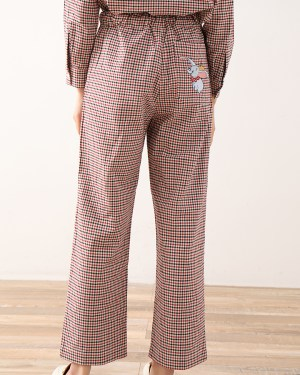 Jin Checkered Pattern with Dumbo Design Pants 7