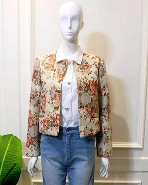 Lisa Vintage Flower Print Coat 5