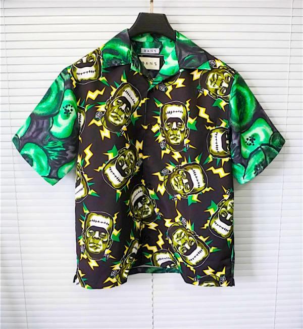 Frankenstein Short Sleeved Collar Shirt | Taeyong – NCT