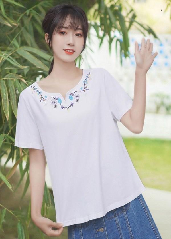 Boho Inspired Short Sleeve T-shirt