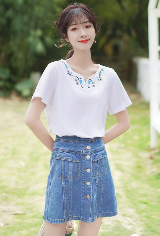 Boho Inspired Short Sleeve T-shirt