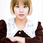 Red Velvet Lace Collar Dress | Chaeyoung – Twice
