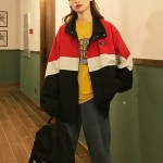 Tricolor Oversize Jacket with Hood | Choi Seung Kwon – Itaewon Class