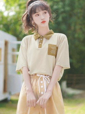Classic Khaki Shirt With Pocket (4)