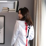Mesh Color Strips Windbreaker | Kai – EXO