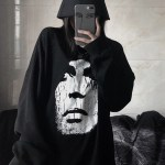 White Face Black Sweater | Kai – EXO