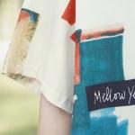 Mellow Yellow Abstract Short Sleeve Collared Shirt