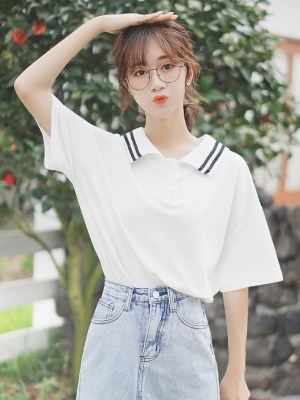 Short Sleeved Collared T-Shirt (3)