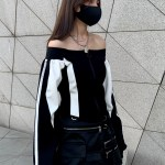 Off Shoulder Puff Sleeves Top | Soyeon – (G)I-DLE