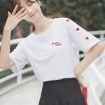 Sweet Heart Print T-Shirt