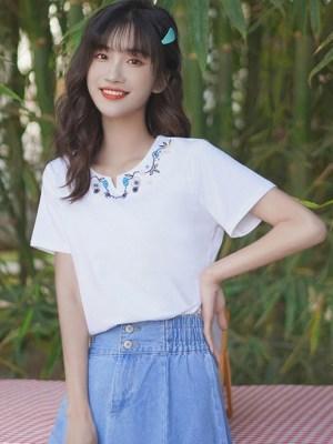 Vintage Embroidered Shirt (3)