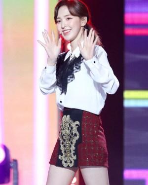 Black Laced Chiffon Long Sleeve Shirt   Wendy – Red Velvet