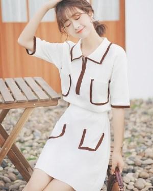 White Polo Shirt Dress (5)