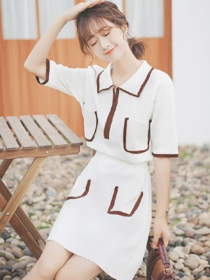 White Polo Shirt Dress (5)